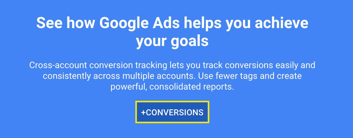 Add Conversion to Google Ads