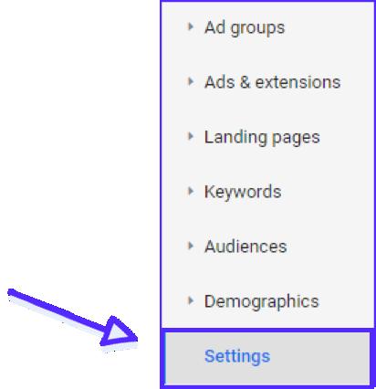 Google Ads Settings