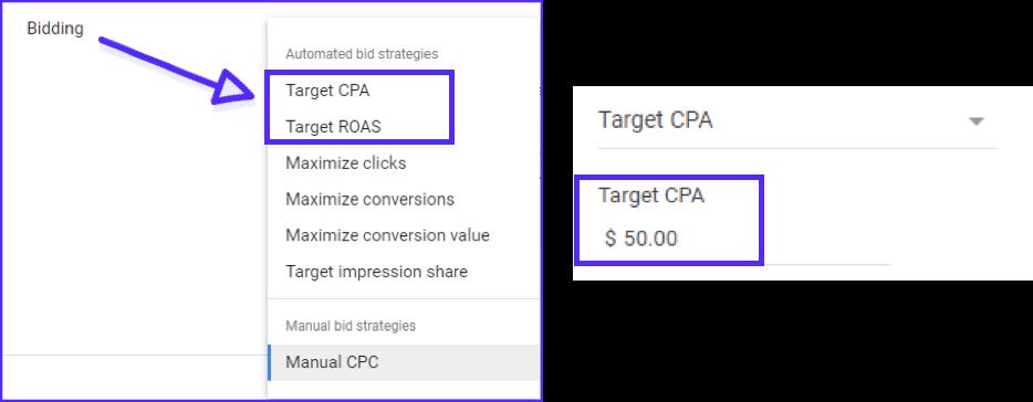Google Ads Target CPA