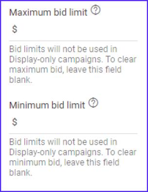 Google Ads Max Bid Strategy