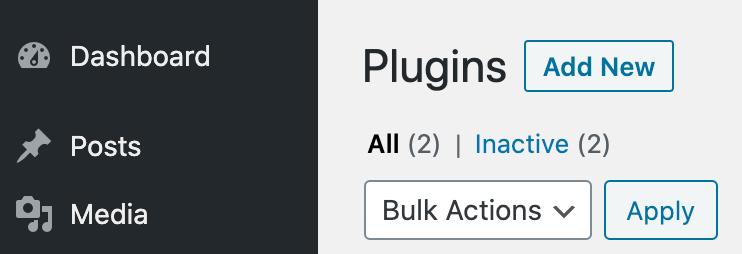 Add Plugin